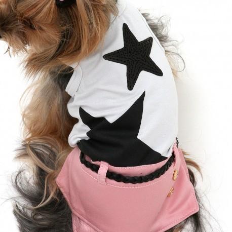 Vestido de Pontas Rosa Woof Pet P (12)