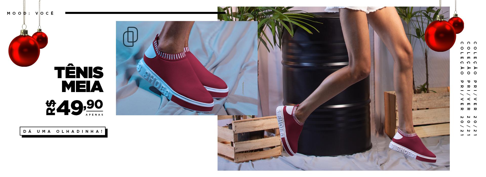 Tênis meia it shoes
