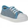 Tênis Infantil Menina Fashion Calce Fácil Com Elástico 157.44.031   Jeans Azul Claro
