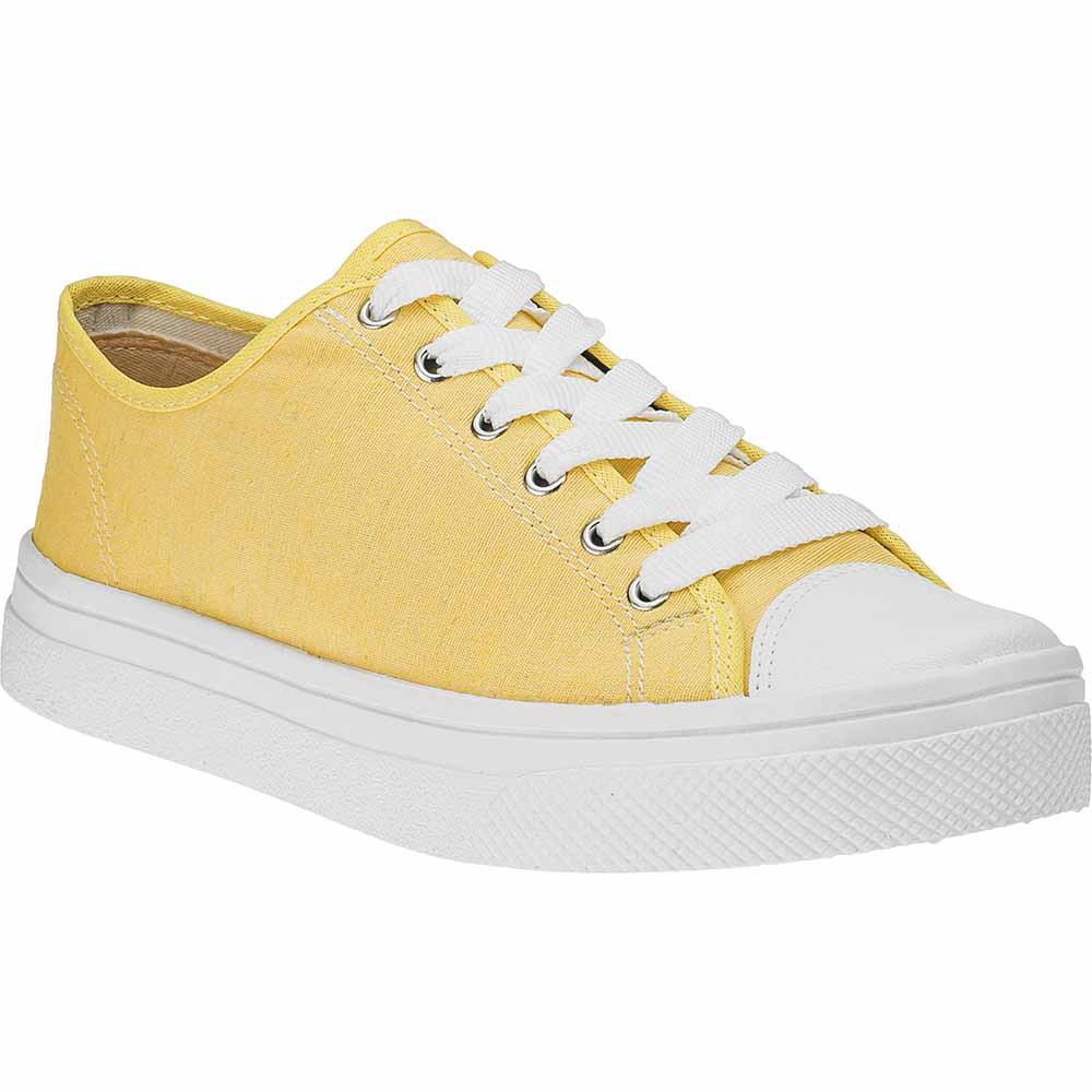 Tênis Feminino All Star Casual Domidona Cano Baixo 142.02.057 | Amarelo