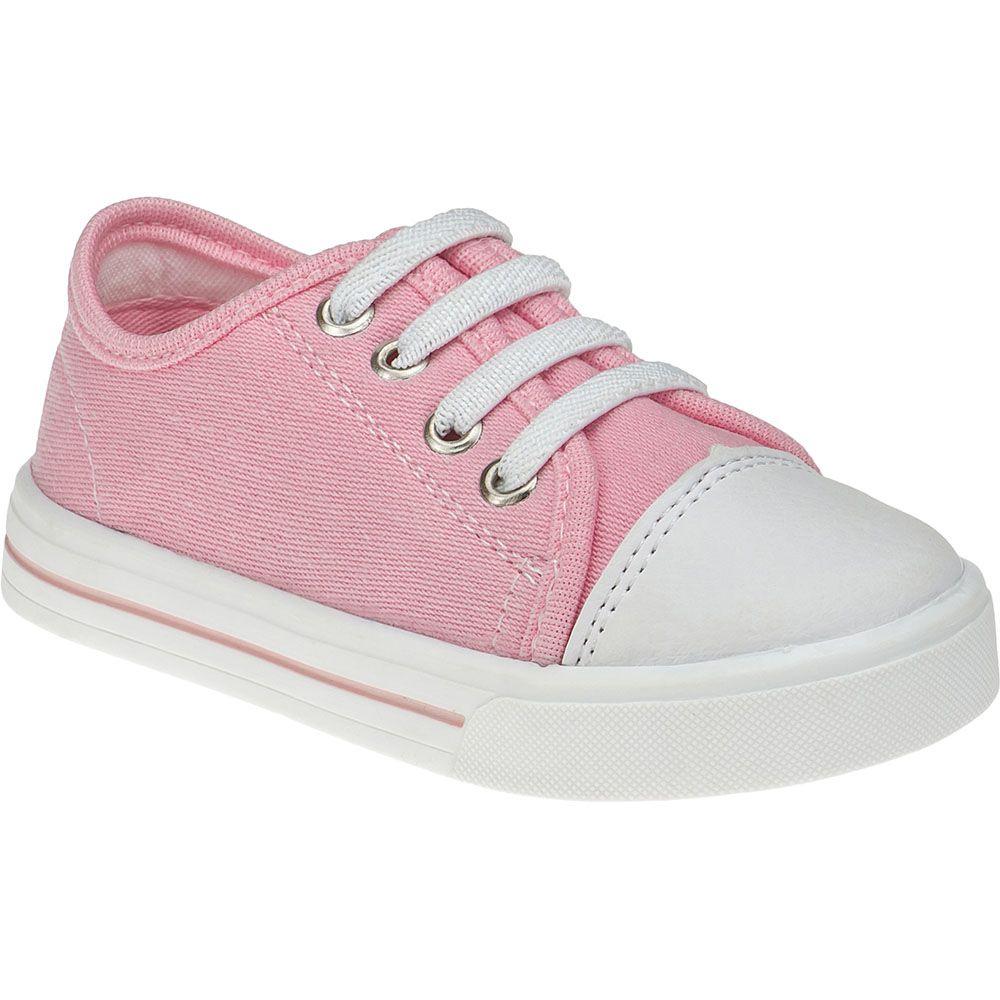 Tênis Infantil Menina Fashion Calce Fácil Com Elástico 157.44.002 | Rosa