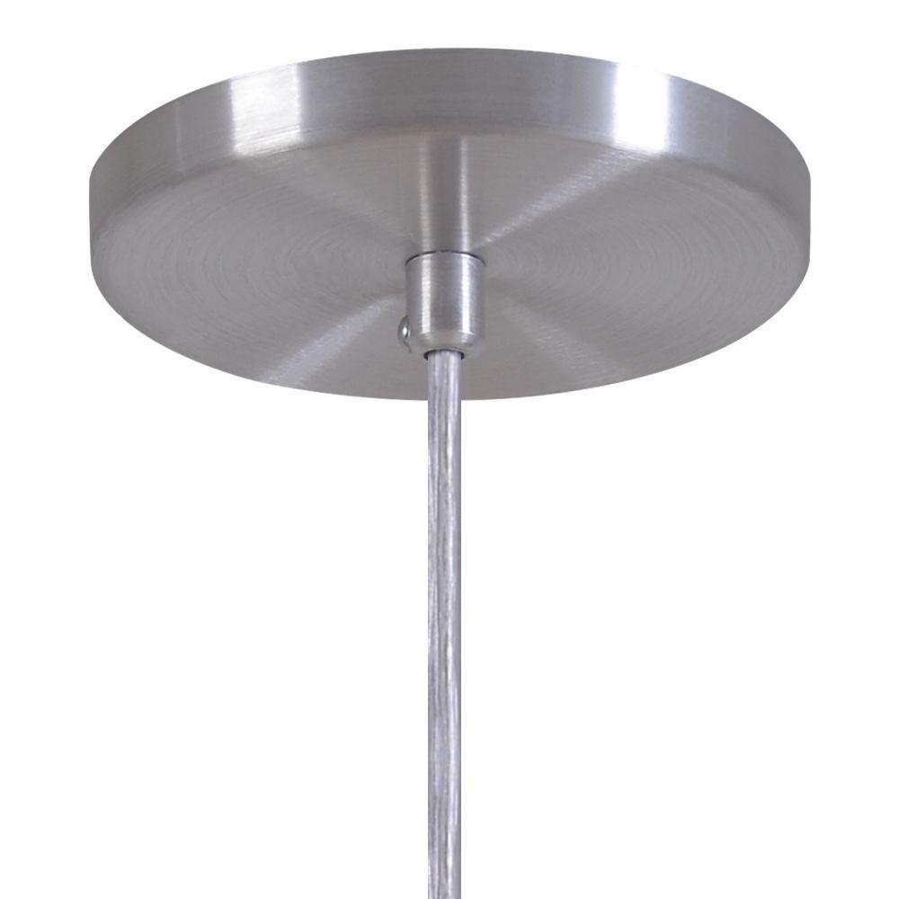 Pendente Copinho Soquete Luminária Lustre Alumínio Escovado - Rei Da Iluminação