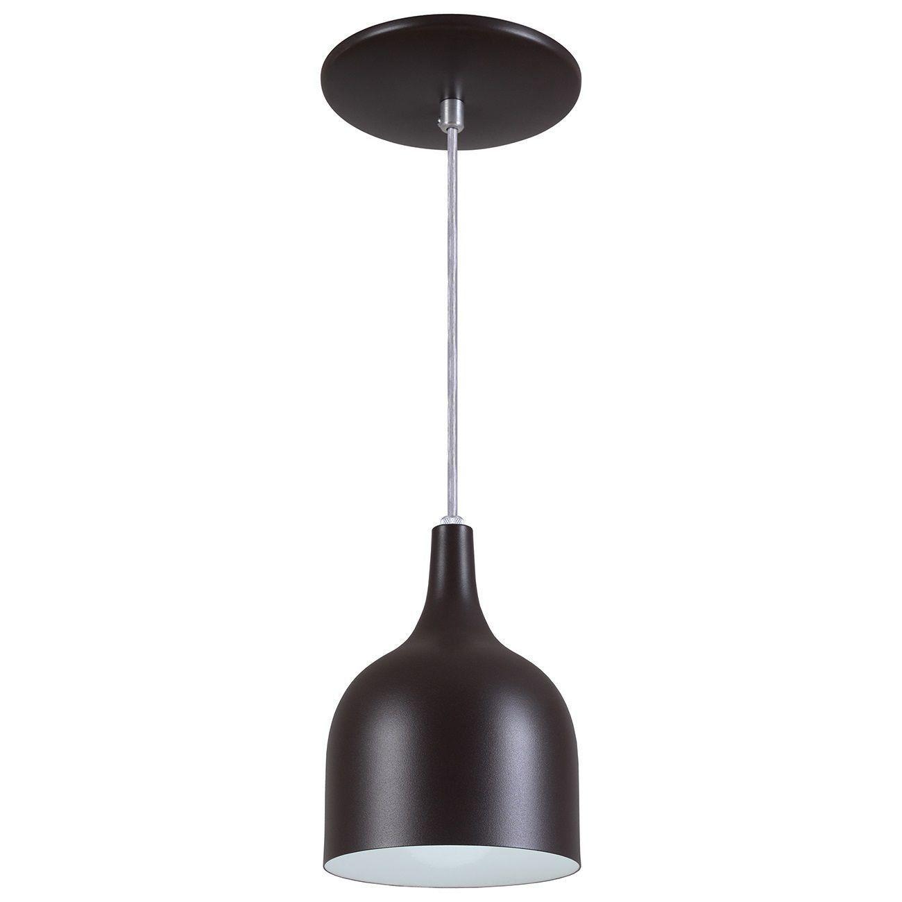 Pendente Gota Teat Luminária Lustre Alumínio Marrom Tabaco Textura - Rei Da Iluminação