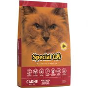 RAÇÃO SPECIAL CAT PREMIUM CARNE PARA GATOS ADULTOS 3kg