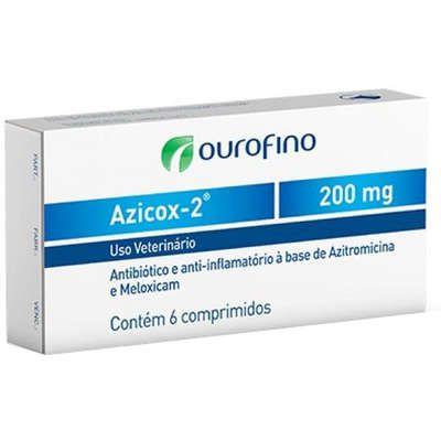 ANTIBIÓTICO E ANTI-INFLAMATÓRIO AZICOX-2 200MG