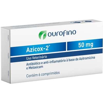 ANTIBIÓTICO E ANTI-INFLAMATÓRIO AZICOX-2 50MG