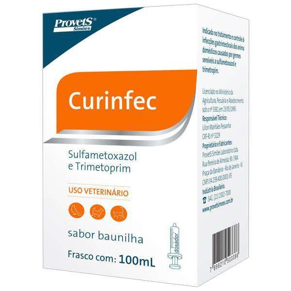 ANTIBIÓTICO CURINFEC 100 ML