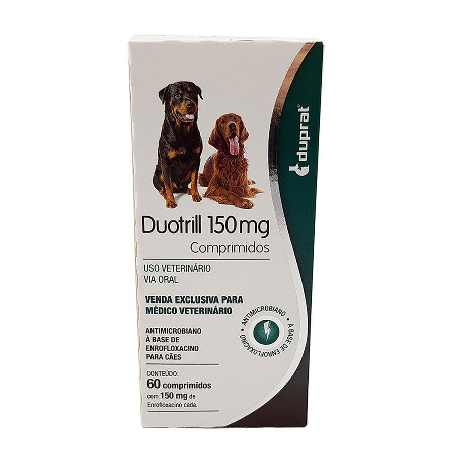 ANTIMICROBIANO DUOTRILL COMPRIMIDOS 150MG