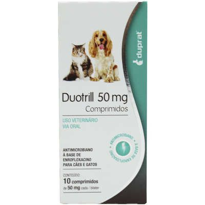 ANTIMICROBIANO DUOTRILL COMPRIMIDOS 50MG