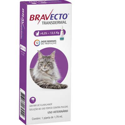 ANTIPULGAS BRAVECTO TRANSDERMAL PARA GATOS DE  6,25-12,5KG