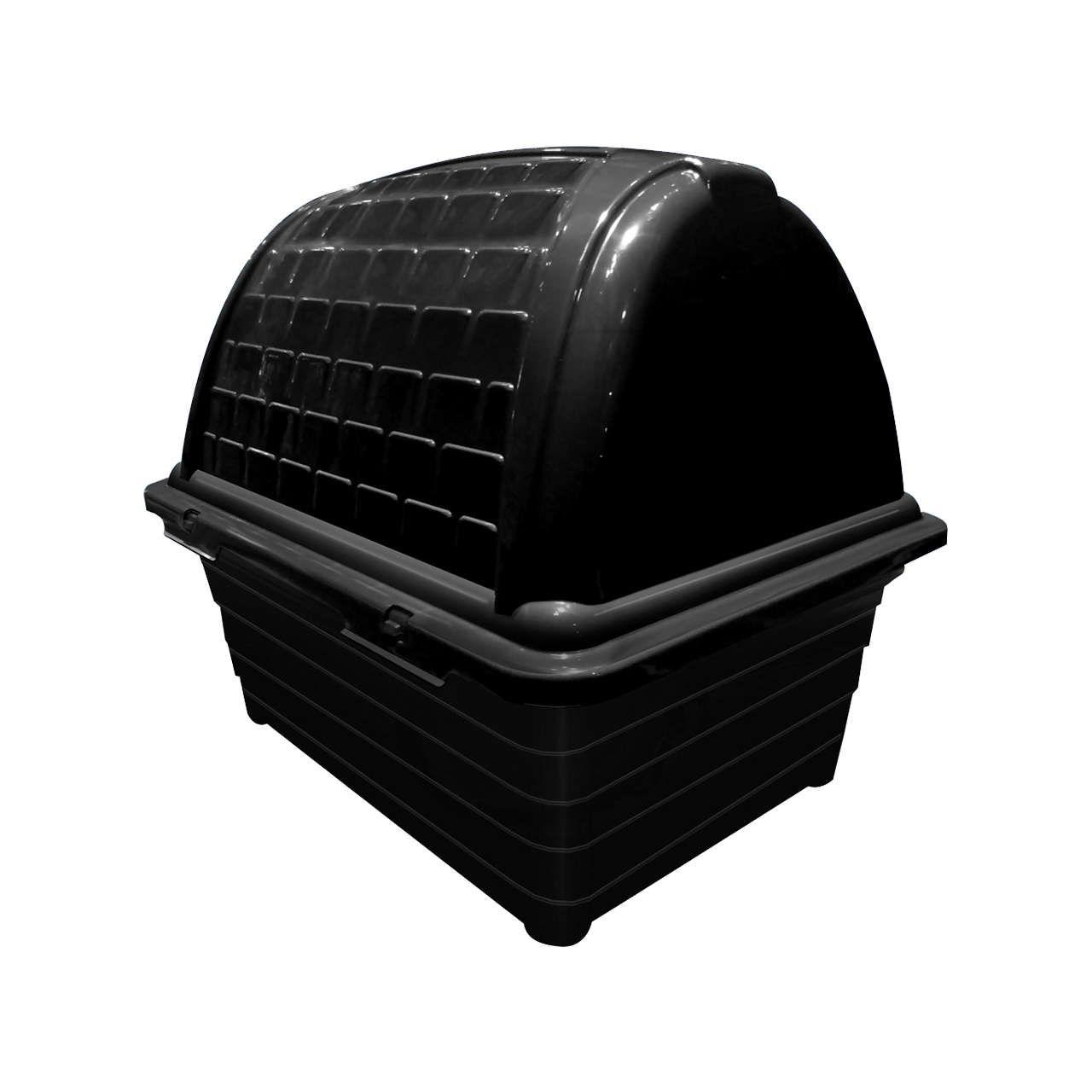 CASINHA PLAST. FURACÃO PET IGLU BLACK - N01