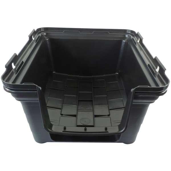 CASINHA PLAST. FURACAOPET N3,0 - BLACK