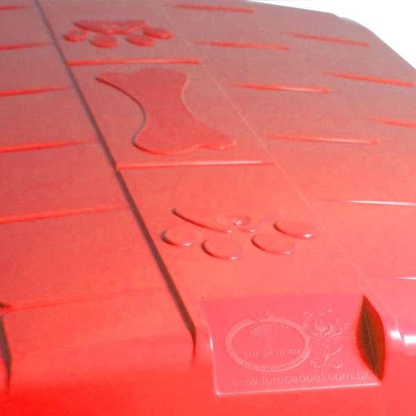 CASINHA PLAST. FURACAOPET N3,0 - VERMELHA