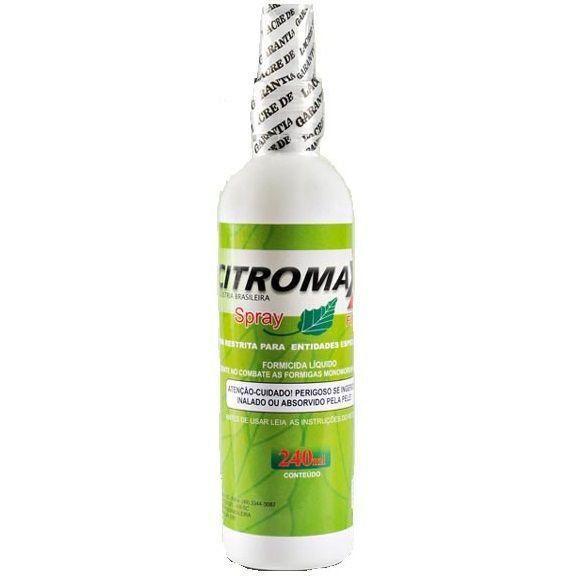 FORMICIDA LIQUIDO - CITROMAX SPRAY - 50ML