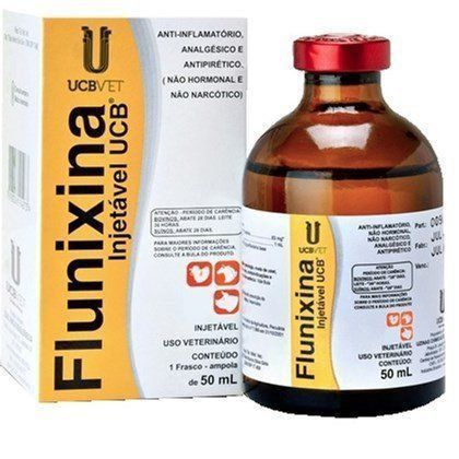 FLUNIXINA INJ UCB 50 ML *