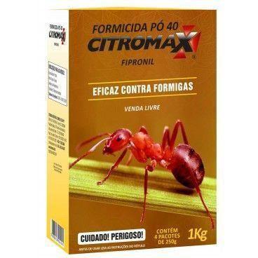 FORMICIDA PO 40 ROSA CITROMAX  250g