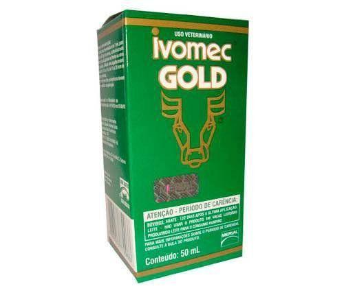 IVOMEC GOLD ANTIPARASITÁRIO IVERMECTINA INJETÁVEL 50 ML *