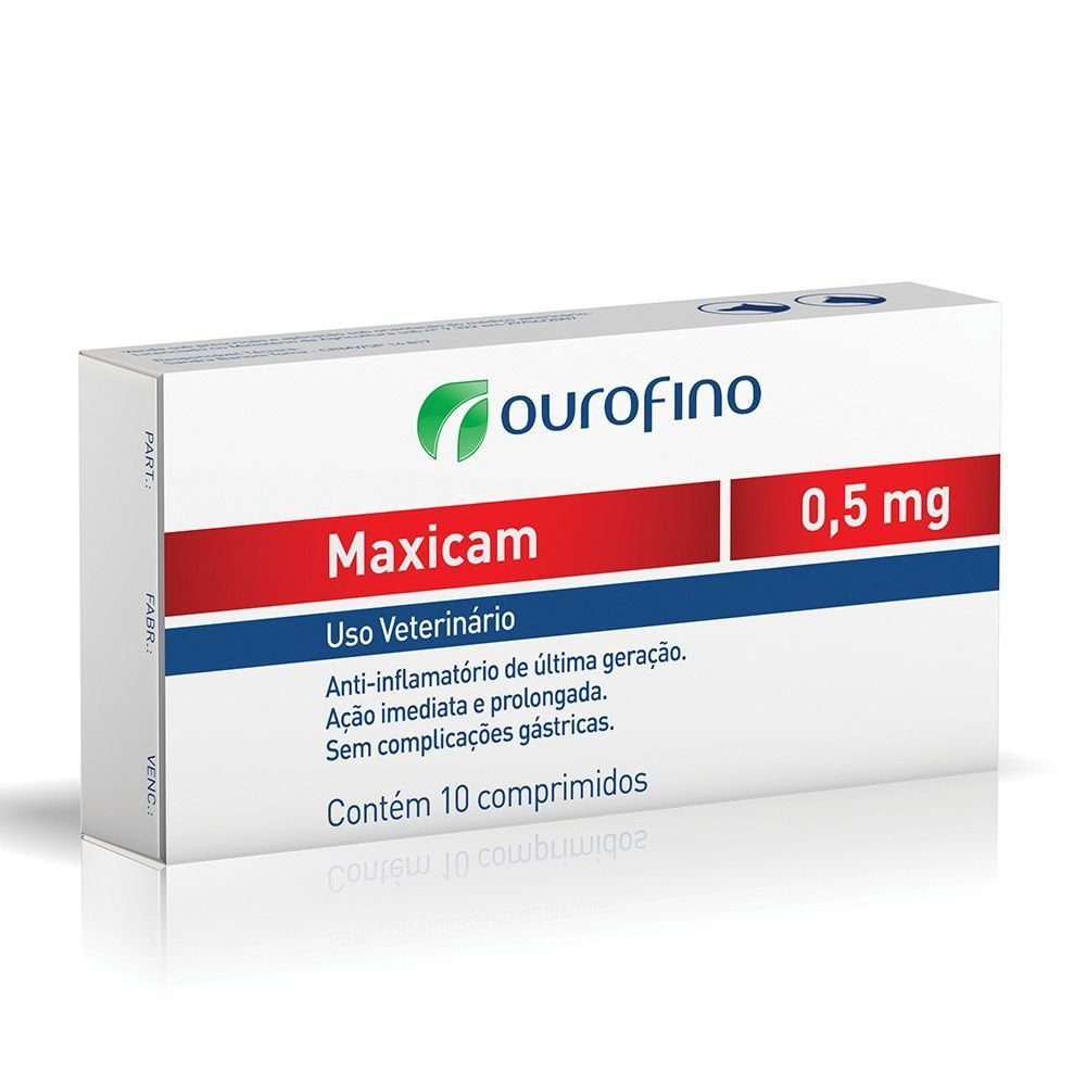 ANTI-INFLAMATÓRIO MAXICAM COMP. 10 X 0,5 MG
