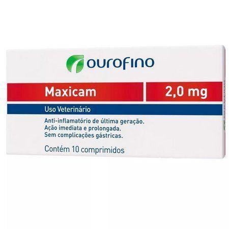 ANTI-INFLAMATÓRIO MAXICAM 10 COMPRIMIDOS 2,0 MG