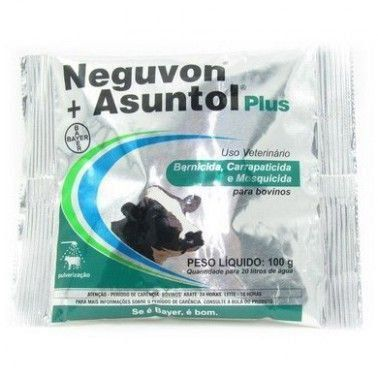 NEGUVON+ASUNTOL PLUS PARASITICIDA 100GR