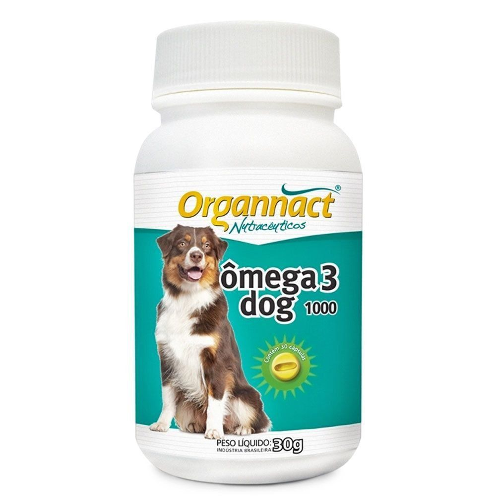OMEGA 3 DOG  ORGANNACT 1000 MG