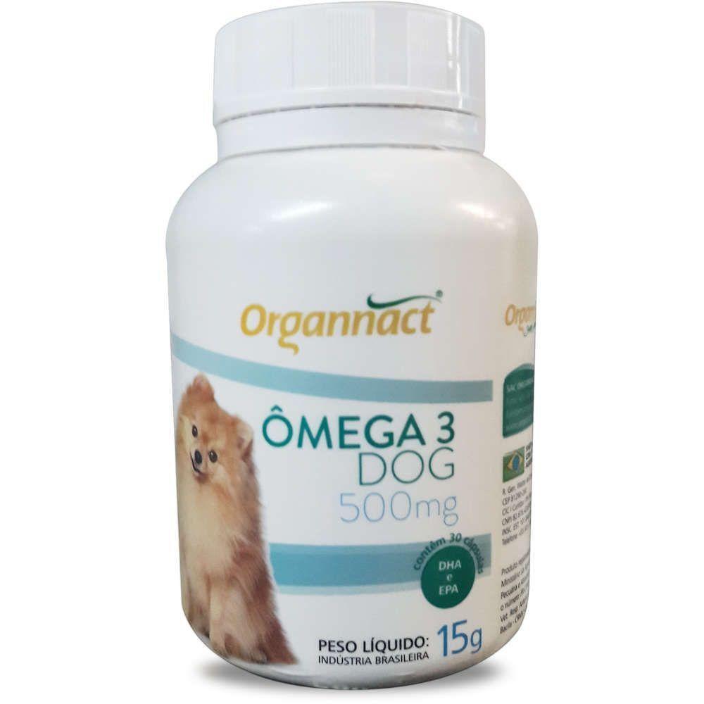 ORGANNACT OMEGA 3 DOG 500 MG
