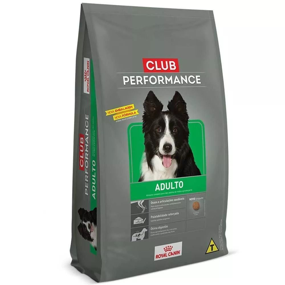 RAÇÃO ROYAL CANIN CLUB PERFORMANCE ADULTO - 2,5 KG