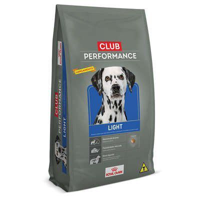 RAÇÃO ROYAL CANIN CLUB PERFORMANCE LIGHT PARA CÃES COM SOBREPESO - 15,0 KG