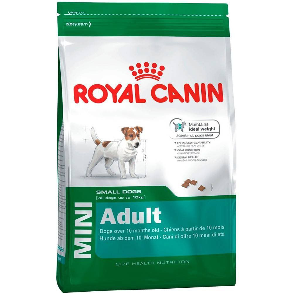 RAÇÃO ROYAL CANIN MINI ADULT - PACOTE 7,5 KG