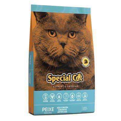 RAÇÃO SPECIAL CAT PREMIUM PEIXE PARA GATOS ADULTOS 10,1kg