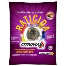 RATICIDA CITROMAX GRANULADO ROSA 25g