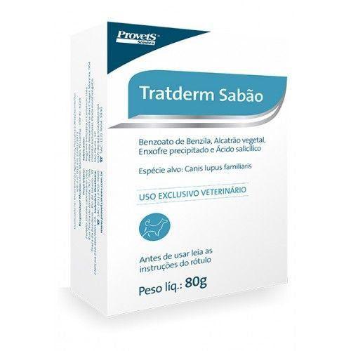 SABÃO TRATDERM ANTISSÉPTICO 80g