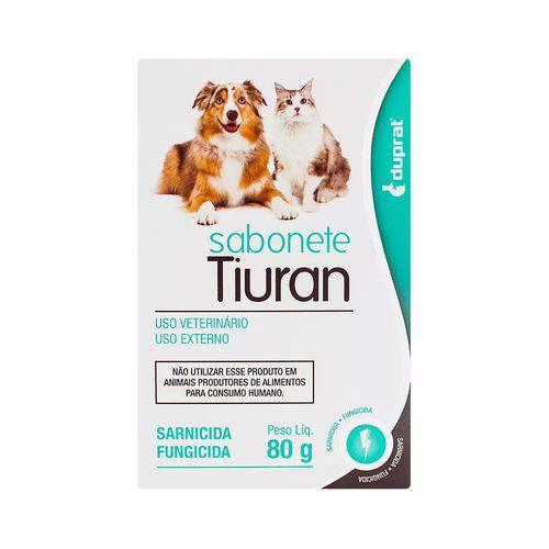 SABONETE SARNICIDA E FUNGICIDA TIURAN - 80G