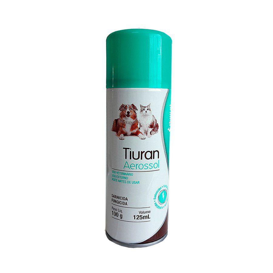 SARNICIDA E FUNGICIDA TIURAN AEROSSOL - 125 ML