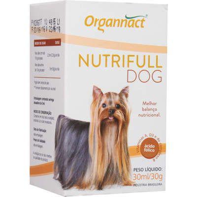 SUPLEMENTO VITAMÍNICO NUTRIFULL DOG - 30ML