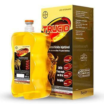 Trucid Parasiticida Doramectina 1% Injetável 500mL
