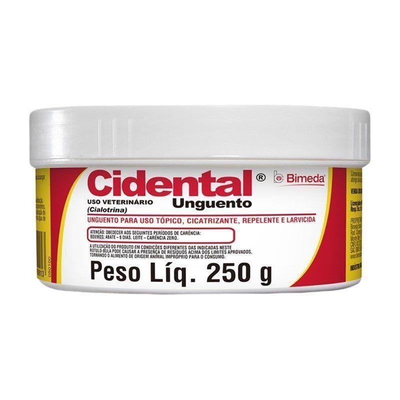 UNGUENTO CIDENTAL 250 GR POTE 250GR. *