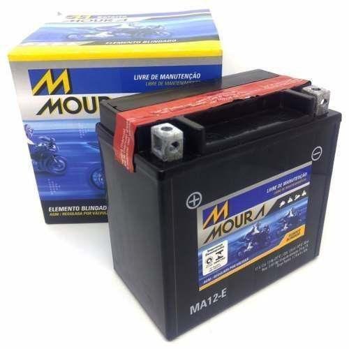 Bateria Moura 12ah Bandit 1200 Bmw F 700 800 1200 YTX14-BS