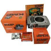 Kit Completo Pistão Cilindro e Juntas Kmp Cg 150 P/ 190cc