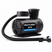 Compressor De Ar Portátil Automotivo 250psi Multilaser 12v 20,07 Bar