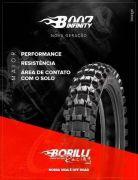 Pneu Borilli B007 Infinity 100/100-18 Exc Soft Traseiro