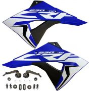 Aleta Asa Aba Crf230 Biker F-19 + Adesivo + Kit Transformação
