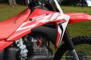 Aletas Do Tanque Crf 230 2015 A 2019 F-19 Par Biker