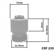 Alongador De Suspensão Dianteiro Com Válvula de Ar Anker Crf 230 Xr 200