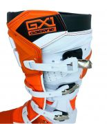 Bota Gaerne Gx1 Goodyear Laranja Lançamento Motocross Enduro Trilha