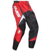 Calça Ims Flex Vermelho Motocross Trilha Enduro