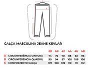 Calca Jeans Texx Com Reforco Em Dupont Kevlar Fender