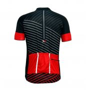 Camisa Mattos Lines Masculino Ciclismo Vermelho