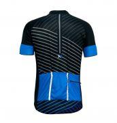 Conjunto Mattos Lines Bermuda Camisa Azul Ciclismo