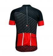 Conjunto Mattos Lines Bermuda Camisa Vermelho Ciclismo